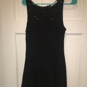 Black Lace Women's Dress